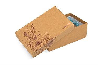 Изготовление подарочных коробок крышка-дно