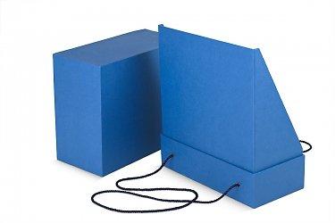 картонная подарочная упаковка в виде пакета с ручками