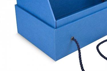 подарочная коробка на заказ с ручками в виде пакета