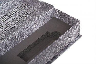 подарочная упаковка для флешек сизоголовым ложементом