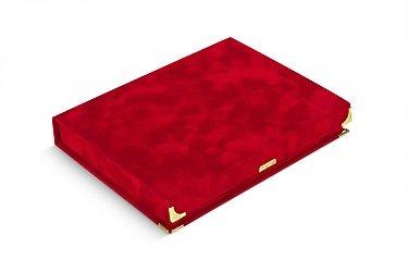 подарочная упаковка для книг драпированная бархатом