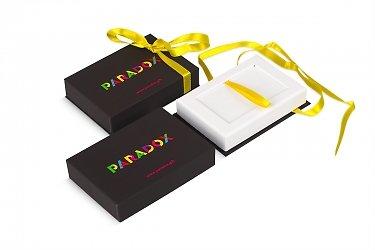 подарочная коробка крышка-дно для дискретной карты