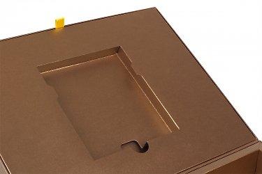 подарочная упаковка для книг с картонным ложементом