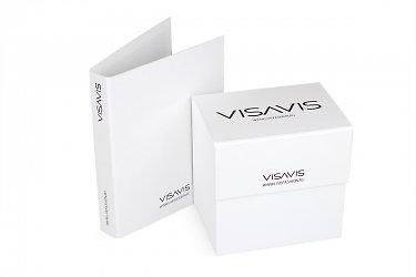 коробка и папка для образцов продукции на выставку