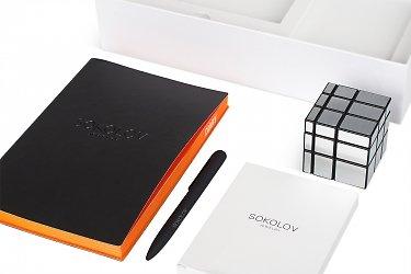 коробки для бизнес сувениров с логотипом вашей компании