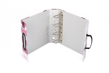 Фирменные портфели-папки с ручками для документов