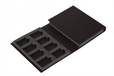 папки для образцов продукции с изолоновым ложементом