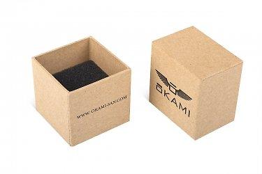 современная упаковка для украшений из картона