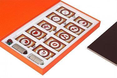 упаковка подарочная для настольной игры с изолоновым ложементом
