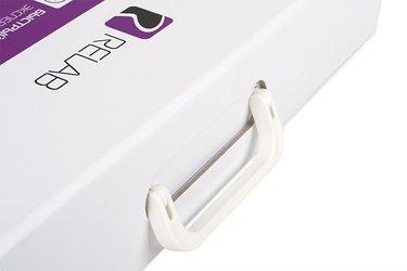 Коробка с ручкой для образцов продукции
