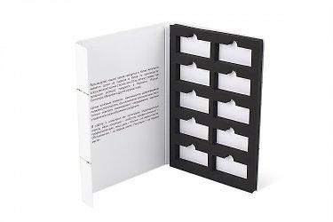 папка для образцов продукции мрамора с ложементом
