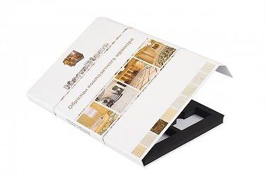 папки для образцов продукции с окошком