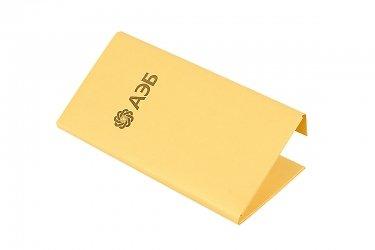 картонная упаковка на заказ для карты