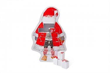 упаковка-пазл подарочная - коробка с конфетами на новый год