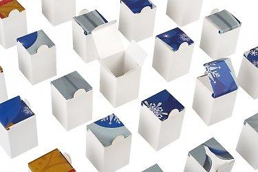 изготовление подарочной коробки для конфет и шоколада на новый год