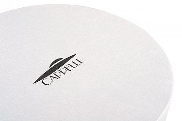 заказ шляпных коробок с логотипом