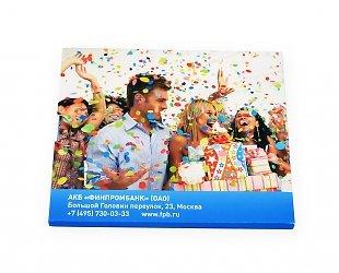 Индивидуальная упаковка для пластиковой карточки