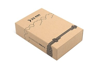 подарочная упаковка из крафт-картона