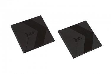 коробки из переплетного картона для банковских карт