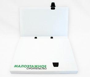 Кашированный портфель-папка