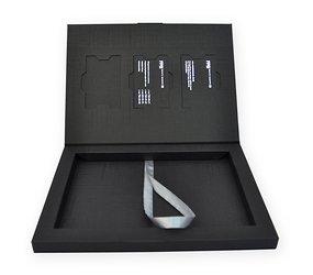 Коробка-книжка с клапаном на магните