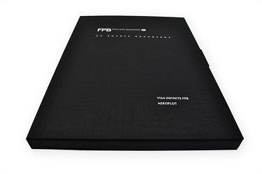 VIP упаковка из дизайнерской бумаги с тиснением