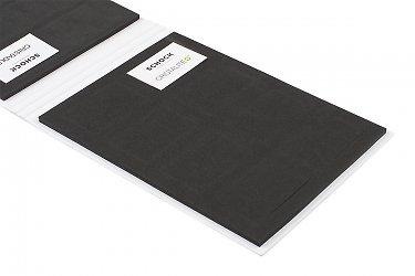 папки для образцов продукции