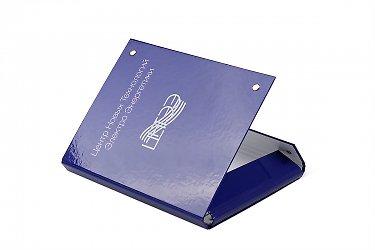 упаковка для бизнеса - папка с кольцами