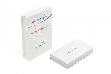 упаковка для подарочных карт - коробка и пакет