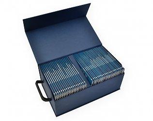 Кашированная упаковка-сундучок с ручками
