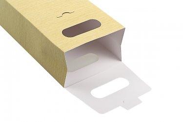 подарочная коробка-пакет на новый год