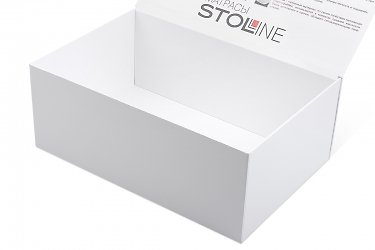 портфели и кашированные коробки-книжки для образцов продукции