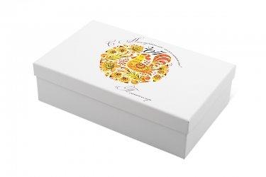 упаковка сувениров - коробка для чайной пары