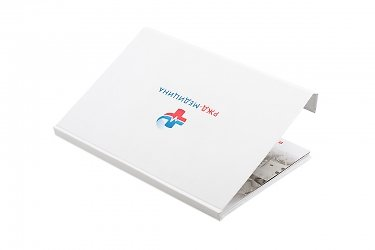 печать на коробках логотипа
