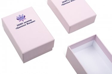упаковка для карточек - коробочки с крышкой