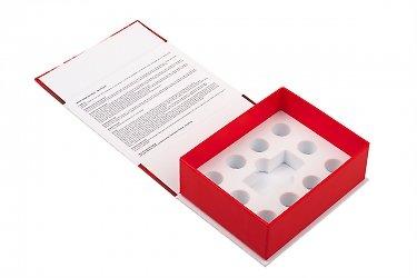 коробки с откидной крышкой для фармацевтики