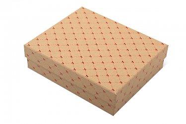кашированная упаковка - подарочная коробка