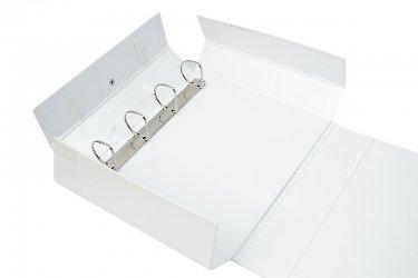 Кашированная папка-презентер с кольцевым механизмом