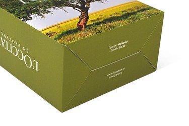 подарочная упаковка из картона самосборная