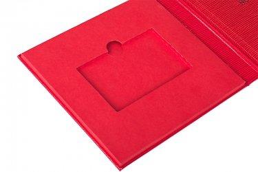 бизнес-упаковка для флешки и буклета