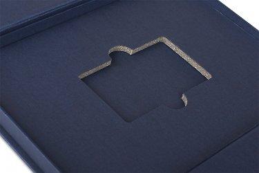 бизнес упаковка для флешек с ложементом