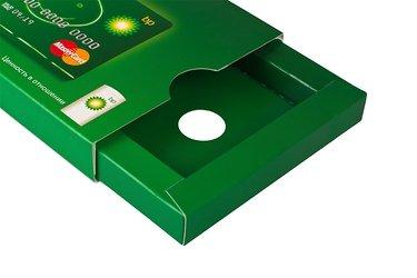 упаковка для пластиковых карт и буклета