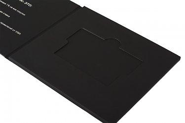 упаковка для пластиковых карт - дизайн и разработка