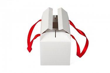 коробка подарочная трансформер из картона