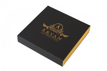 коробки из дизайнерского картона премиум класса с тиснением