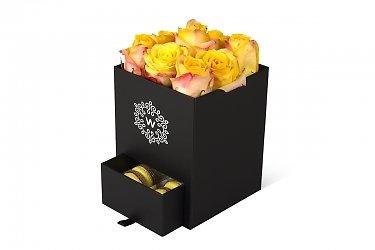 коробка подарочная с ящиком для пирожных
