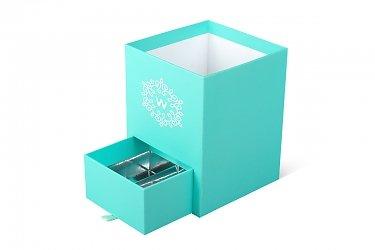 Изготовление подарочных коробок с выдвижным ящиком