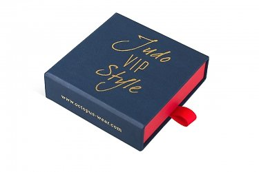 производство подарочных коробок с логотипом для зажима для галстука
