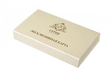 подарочные коробочки на заказ с тиснением