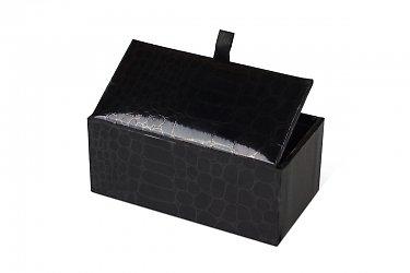 Коробка крышка-дно для ювелирных украшений запонок